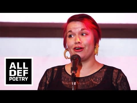 "Melissa Newman-Evans ""A Desperation Dances"" - ALL DEF POETRY: PSI 2014"