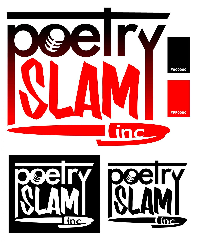 Poetry Slam Inc logo redsign